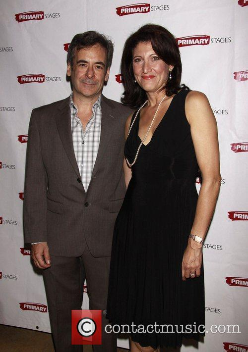 Mark Nelson and Amy Aquino Opening night afterparty...
