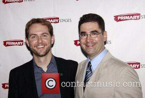 Matt Shakman and Jonathan Tolins Opening night afterparty...