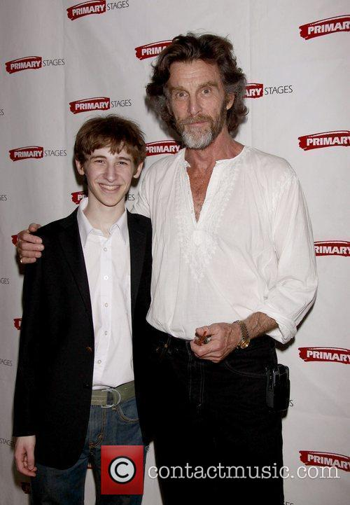Noah Robbins and John Glover Opening night afterparty...