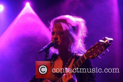 Performing at LLaunch (Lowlands Launch) in Paard van...