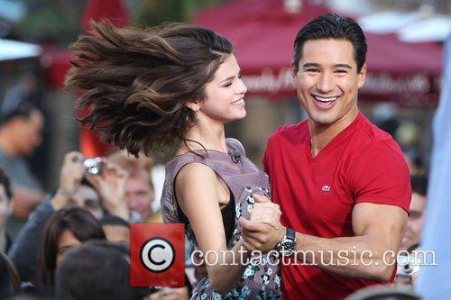 Selena Gomez and Mario Lopez 1
