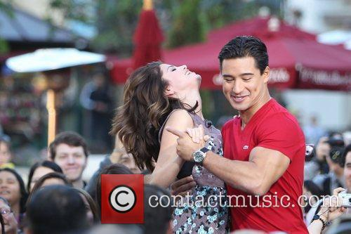 Selena Gomez and Mario Lopez 9