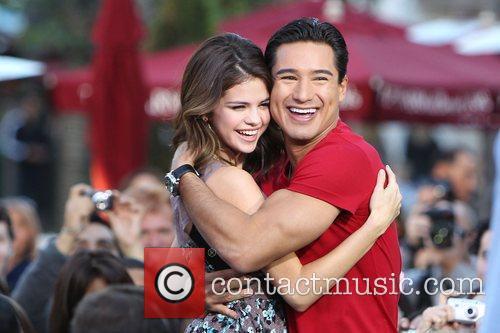 Selena Gomez and Mario Lopez 11