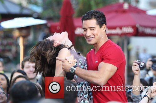 Selena Gomez and Mario Lopez 18
