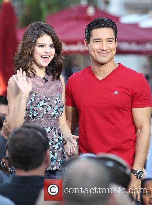 Selena Gomez and Mario Lopez 12