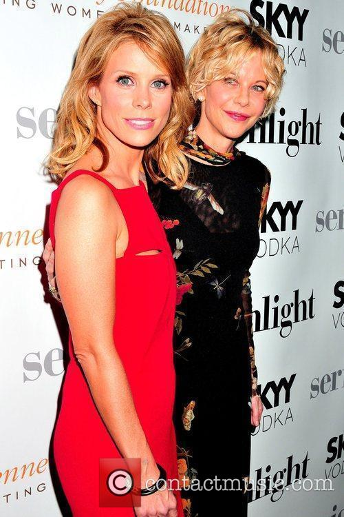 Cheryl Hines and Meg Ryan The premiere of...