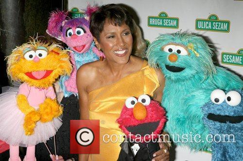 Robin Roberts and Sesame Street 2