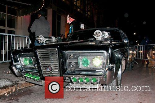 The Black Beauty car at 'The Green Hornet'...