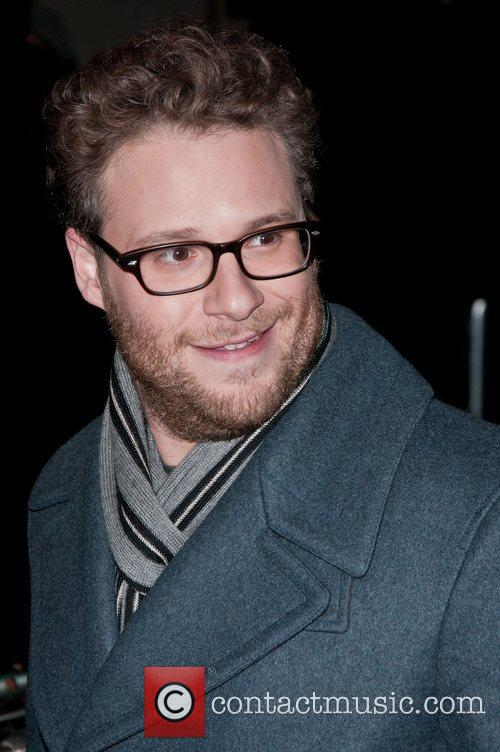 Seth Rogen at 'The Green Hornet' photocall at...