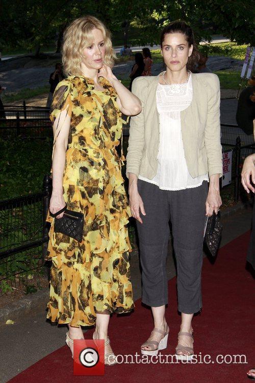 Sarah Paulson and Amanda Peet 2