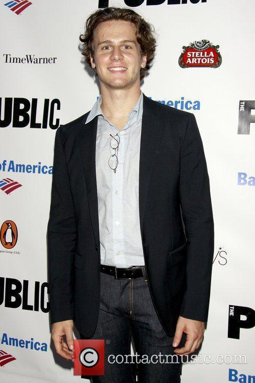 Jonathan Groff from Glee  The Public Theater's...