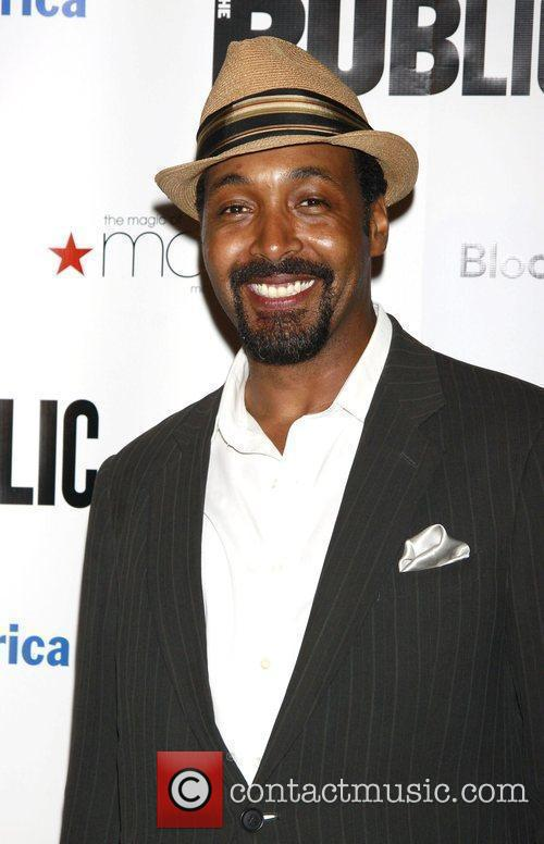 Jesse L. Martin After party for the opening...