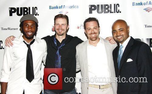 Nyambi Nyambi, Bill Heck, Matthew Rauch and Francois...