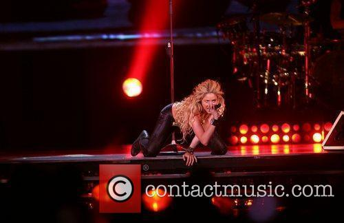 Shakira performs in concert Rotterdam, Holland