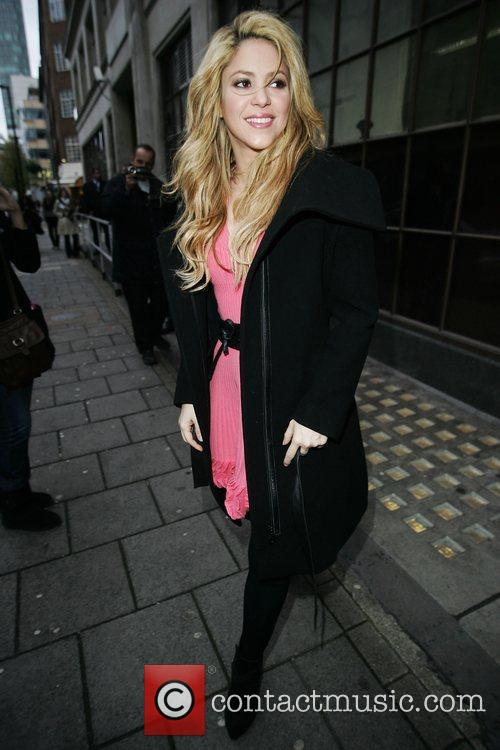 Outside the BBC Radio 1 studios