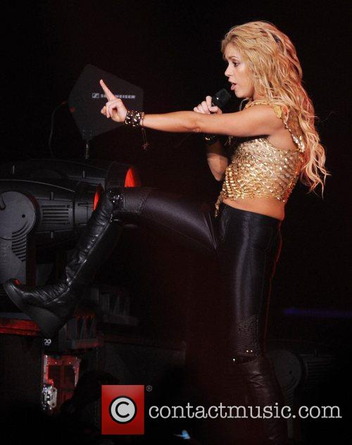 Shakira  performs at the O2 Arena London,...