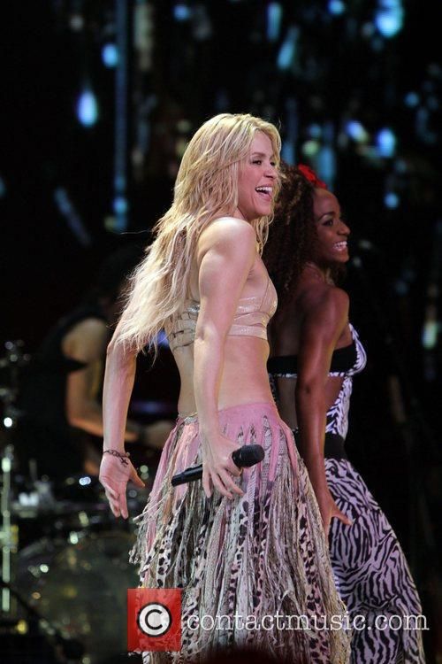 Shakira live in concert at Madison Square Garden...