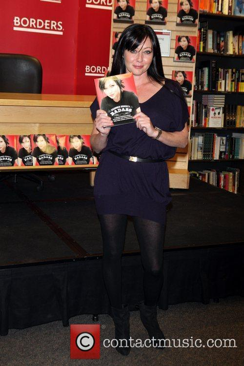 Shannen Doherty  promotes her new book 'Badass'...