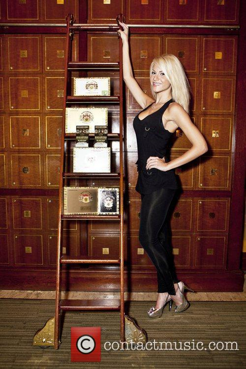 Playmate Shannon James Launches Macanudo's Millionaire Contest at...