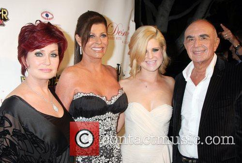 Kelly Osbourne, Sharon Osbourne and Robert Shapiro...