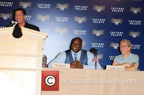 ABC's 'Shaq Vs.' press conference at Caesars Palace...