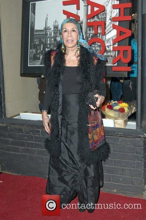 Julie Belafonte Opening Night of Shari Belafonte's Italy...