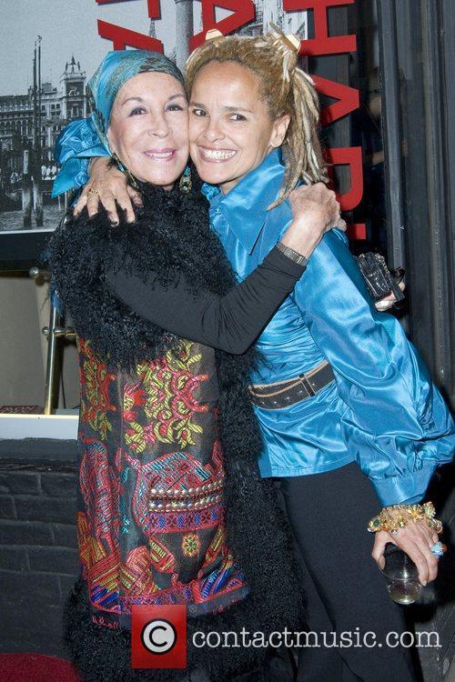 Julie Belafonte and Shari Belafonte Opening Night of...