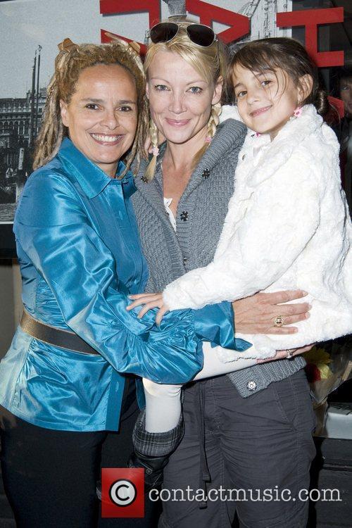 Shari Belafonte, Malena Belafonte and Sarafina Belafonte Opening...