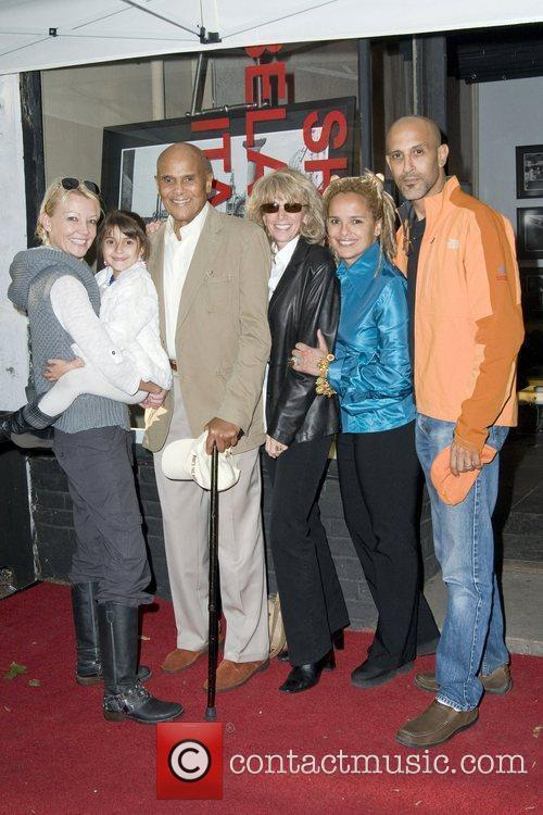Malena Belafonte, Sarafina Belafonte, Harry Belafonte, Pamela Belafonte,...