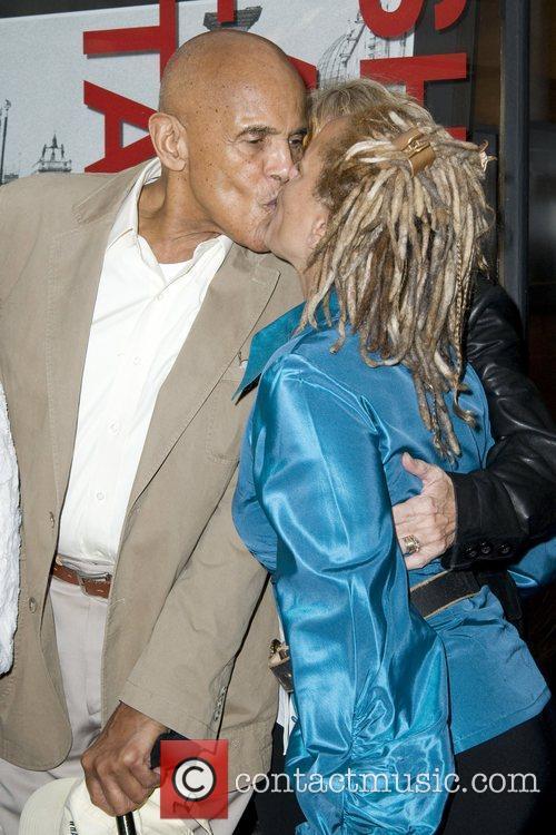Harry Belafonte and Shari Belafonte Opening Night of...