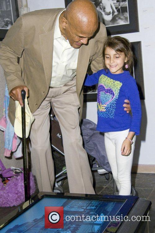 Harry Belafonte and Sarafina Belafonte Opening Night of...