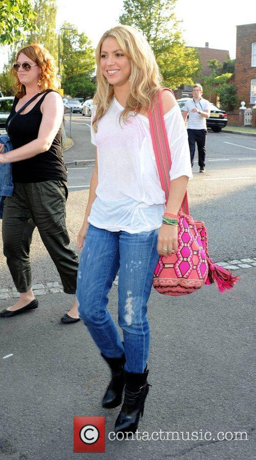 Celebrities at the Wimbledon Tennis Championships 2010