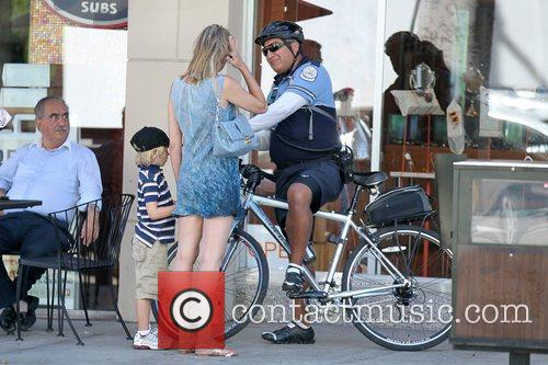 Sharon Stone gets a Parking Enforcement Officer to...