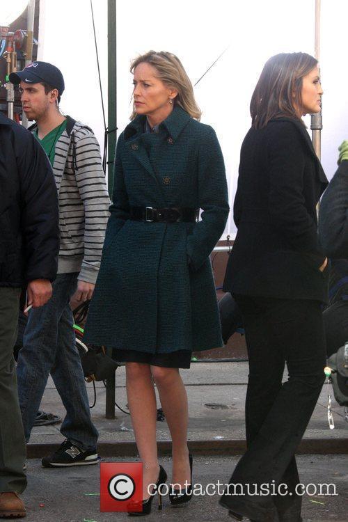 Sharon Stone and Mariska Hargitay 6