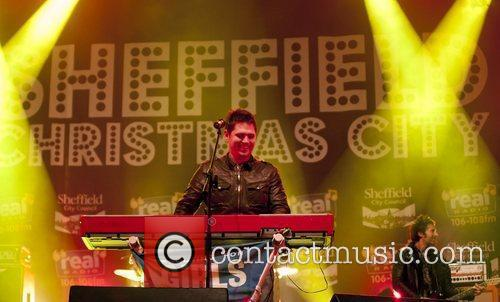 Performs live on Real Radio stage during the...