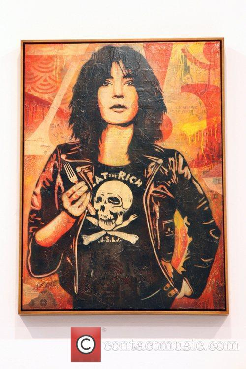 Shepard Fairey's 'May Day' exhibition opens at Deitch...