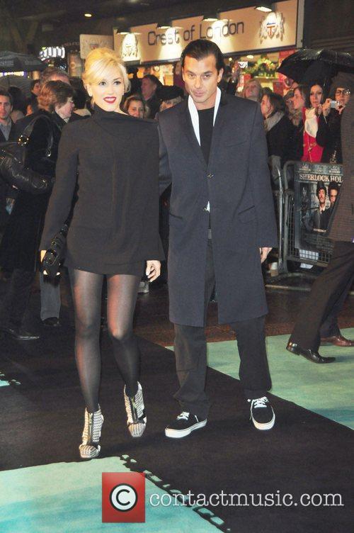 Gwen Stefani and Gavin Rosdale Sherlock Holmes -...