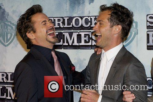 Robert Downey Jr and Jude Law 8