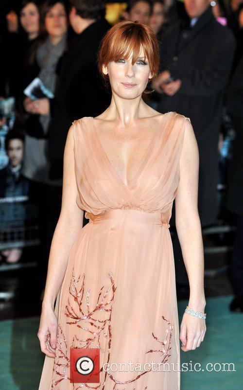 Kelly Reilly Sherlock Holmes - UK film premiere...