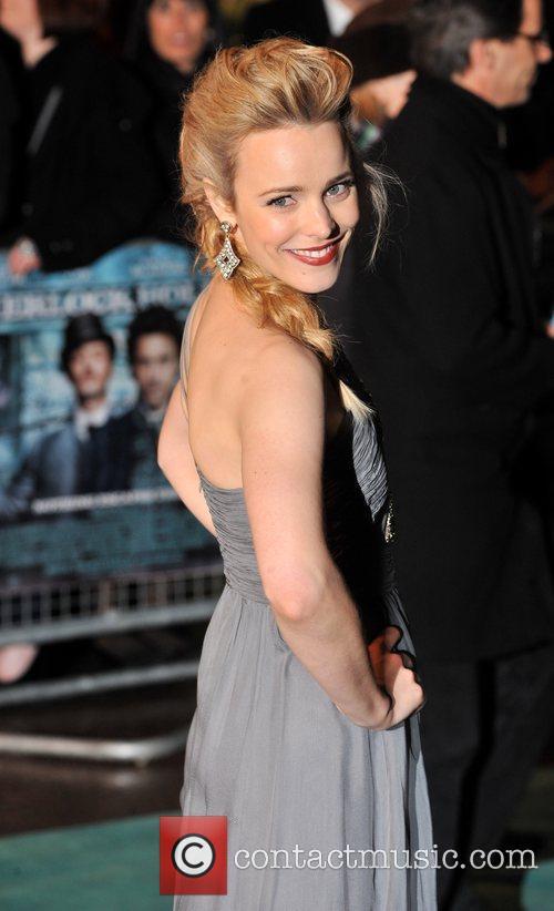 Rachel McAdams Sherlock Holmes - UK film premiere...