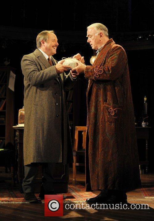 Robert Daws as Dr Watson (left) and Peter...