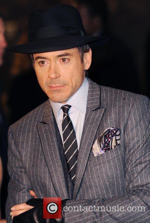 Robert Downey Jr Sherlock Holmes - UK film...