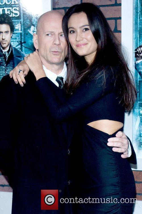 Bruce Willis and Emma Heming New York premiere...