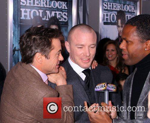 Robert Downey, Jr. and Guy Ritchie New York...