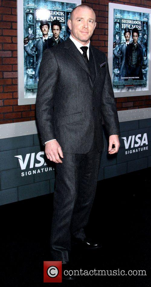 Director Guy Ritchie New York premiere of 'Sherlock...