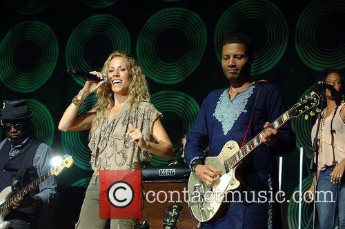 Sheryl Crow performs in support of her '100...