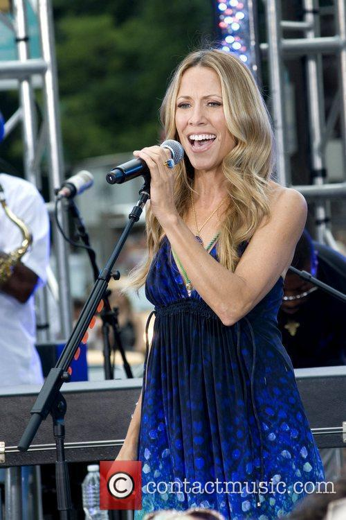 Sheryl Crow and CBS 15