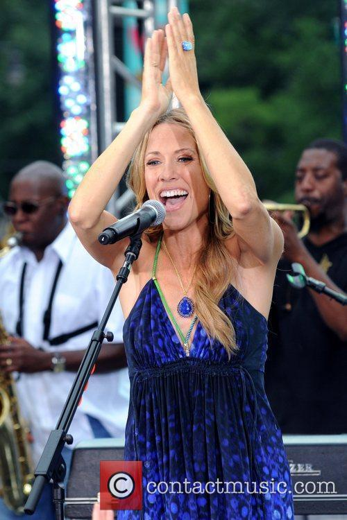 Sheryl Crow, CBS, The Early Show