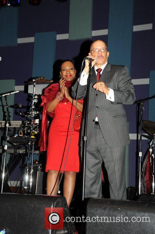 Pennsylvania Senator Vincent Hughes and wife Sheryl Lee...