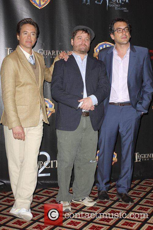 Robert Downey Jr, Warner Brothers and Zach Galifianakis 3